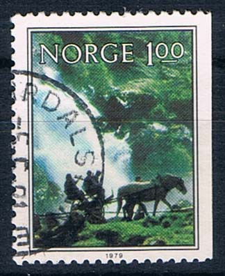 Norge   Afa    809 CH     Stemplet
