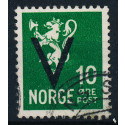 Norge Afa 237.  Stemplet