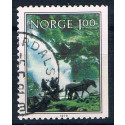 Norge   Afa    809 CH     Stemplet   ,